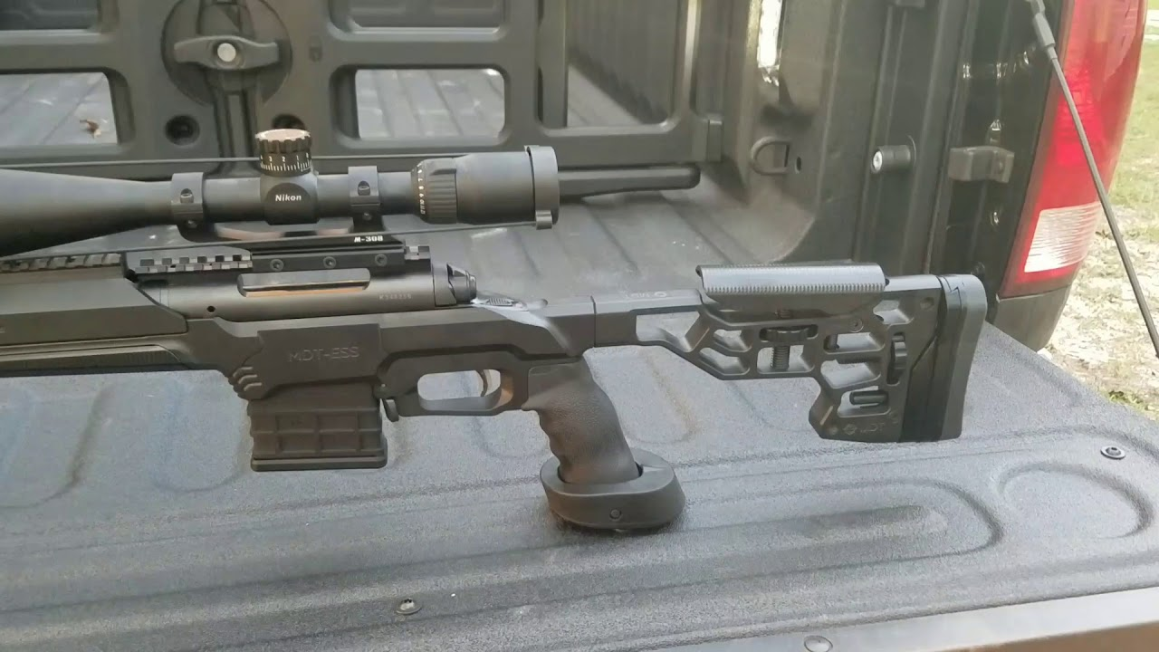 MDT Tactical ESS chassis system, Savage M 10 FCP-SR