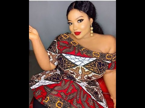 2020 LATEST AND CLASSY #ANKARA BLOUSES FOR THE FASHIONISTAS