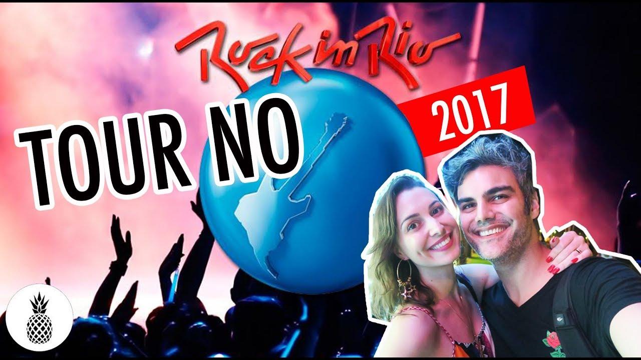 TOUR PELO NOVO ROCK IN RIO | 2017 | A nova cidade do Rock!