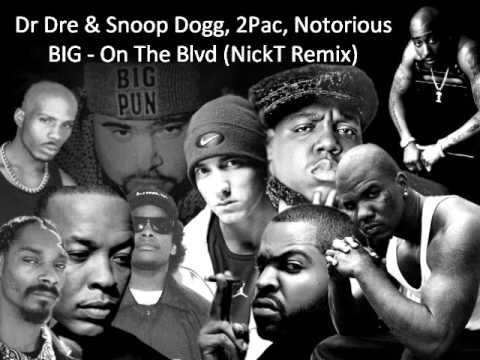 taglia 7 comprare in vendita moderno ed elegante nella moda Dr Dre ft Snoop Dogg, 2Pac, Notorious BIG - On The Blvd
