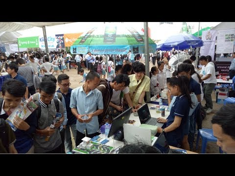 Faculty of Engineering STEM at Olympic Stadium for the 4th Cambodia Science and Engineering Festival