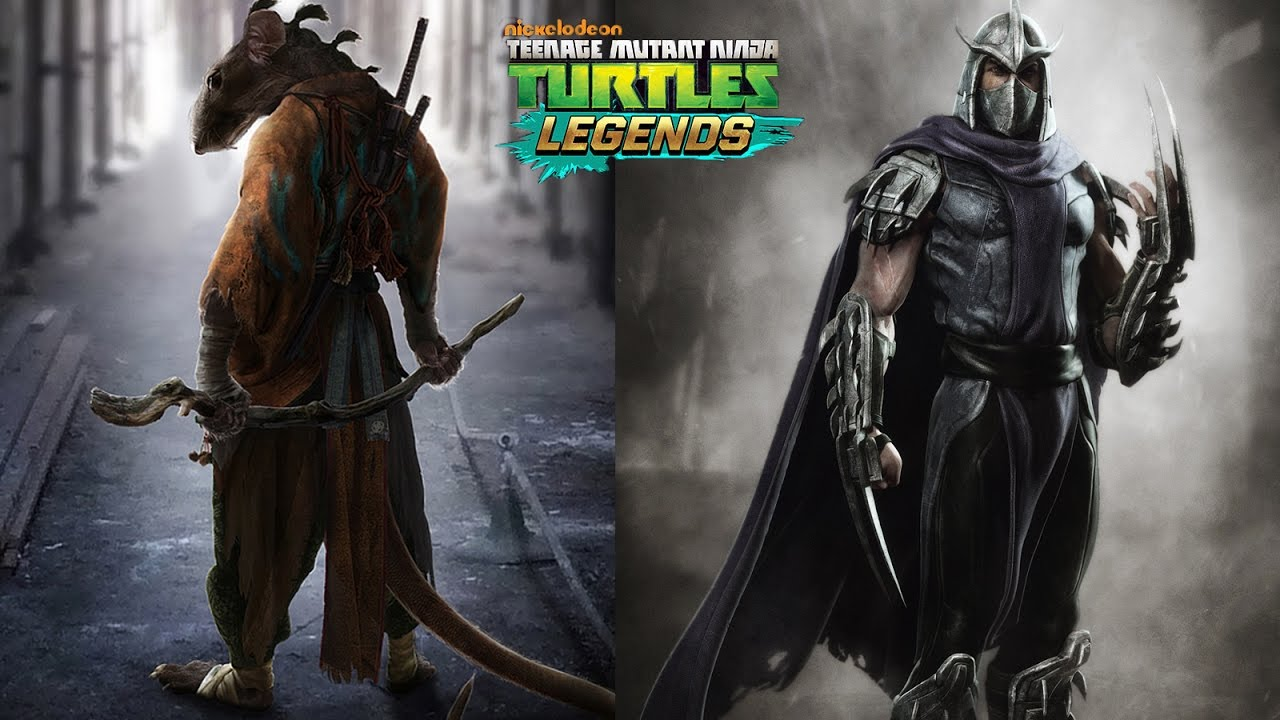splinter and shredder team up tmnt legends