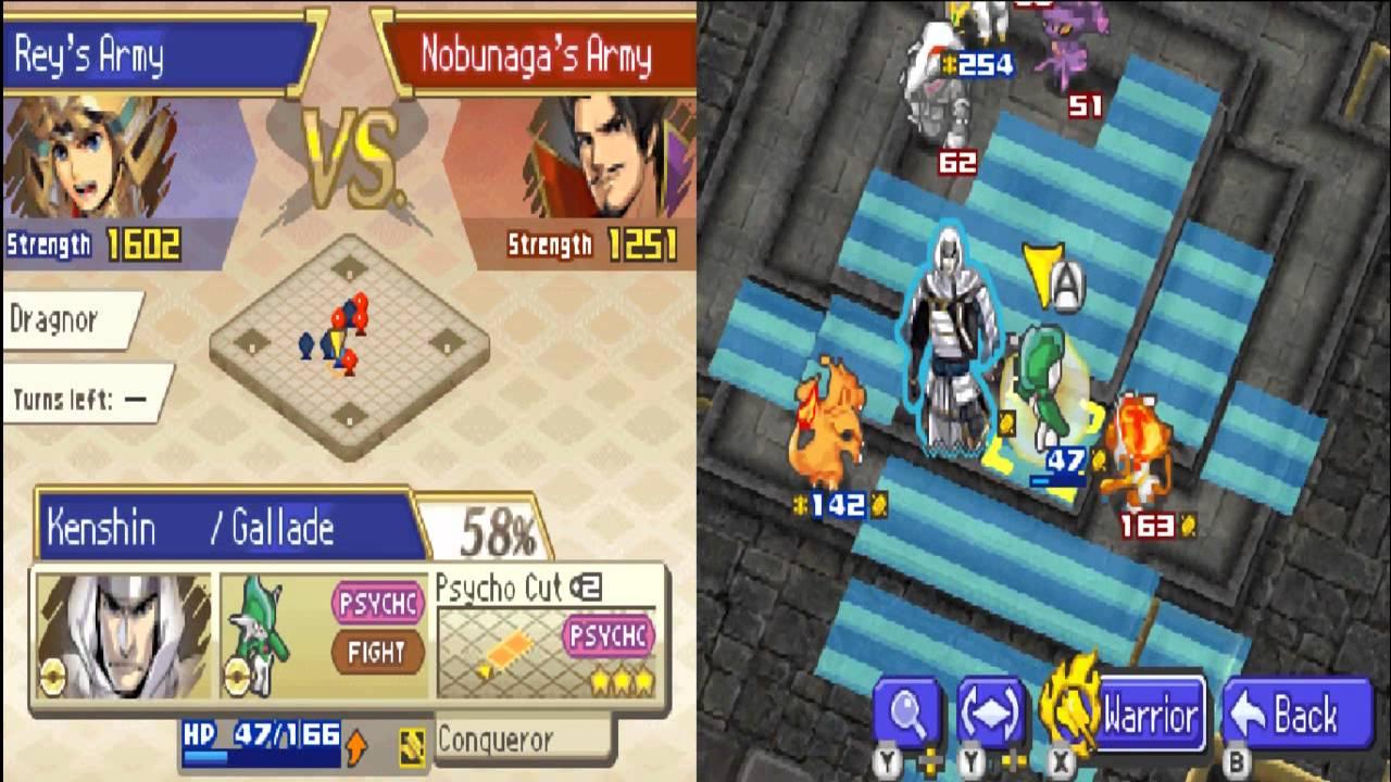 Combate Pokemon Conquest