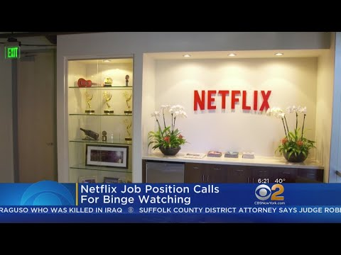 Netflix Job Posting Calls For Binge Watching