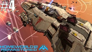 Homeworld 2 Remastered Gameplay Part 4 - Battle over Hyperspace
