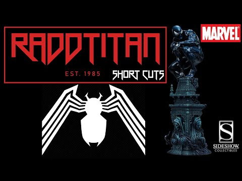 🔴 Opinion Of The Sideshow Collectibles Symbiote Spider-Man Premium Format - Radd Titan Short Cuts ✂️