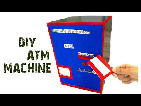 How to make electric ATM machine   diy project