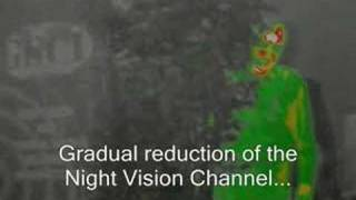 QUADRO - Night Vision /Thermal Imaging Fusion goggles