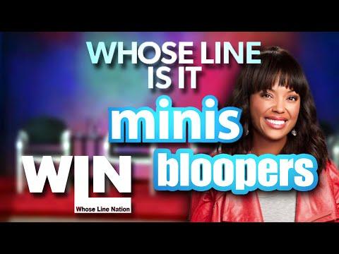 Whose Line is it Anyway Bloopers - Season 10