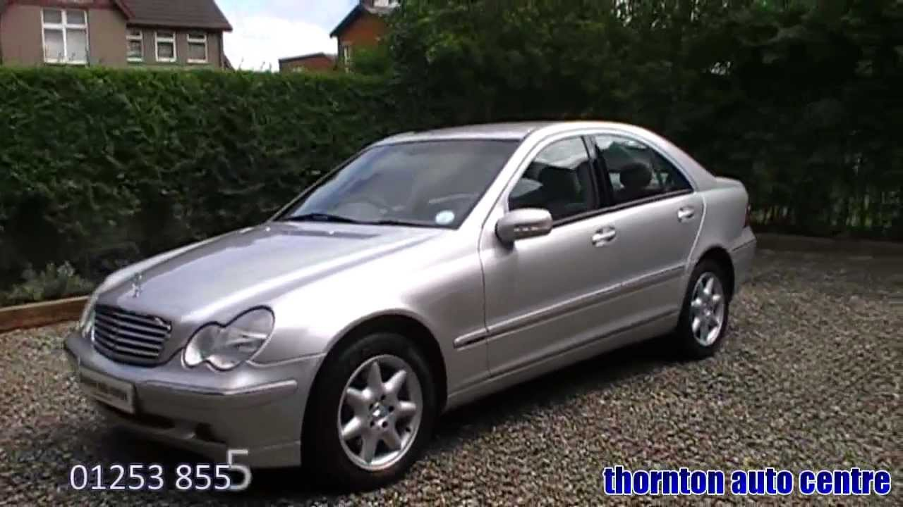 2003 mercedes c270 cdi elegance se youtube. Black Bedroom Furniture Sets. Home Design Ideas