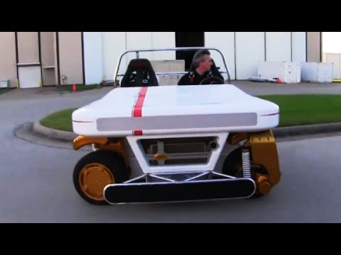 NASA's new car can drive sideways - YouTube