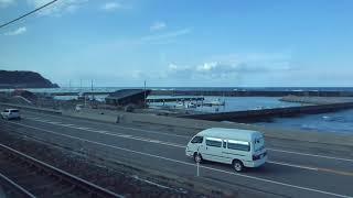 えちごトキめき鉄道日本海ひすいライン右側車窓(直江津~名立)