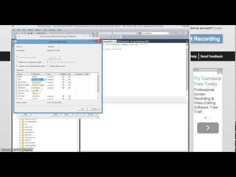 Import Excel file data into SQL Server