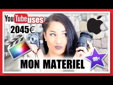 YOUTUBE USES : LE MATERIEL DES YOUTUBEUSES BEAUTE