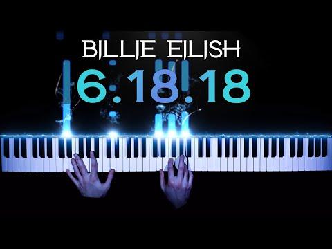 Billie Eilish - 6.18.18 (XXXTentacion tribute) - piano cover   tutorial   how to play