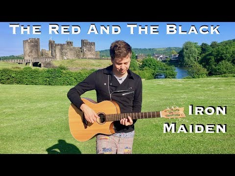 The Red And The Black (IRON MAIDEN) Acoustic - Fingerstyle Guitar by Thomas Zwijsen