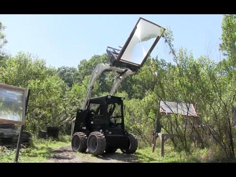 Renewable Energy Fresnel Lens Skid-Steer Loader Solar Heating Asphalt Bitumen Tarmac