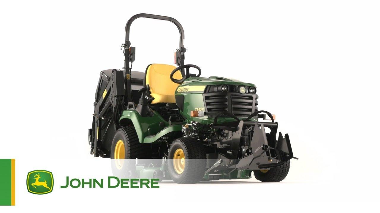 tracteur de jardin john deere x950r - youtube