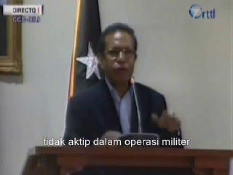 17 TNI Lawan 17 Falintil Dalam Operasi Oleh Presiden Taur Matan Ruak