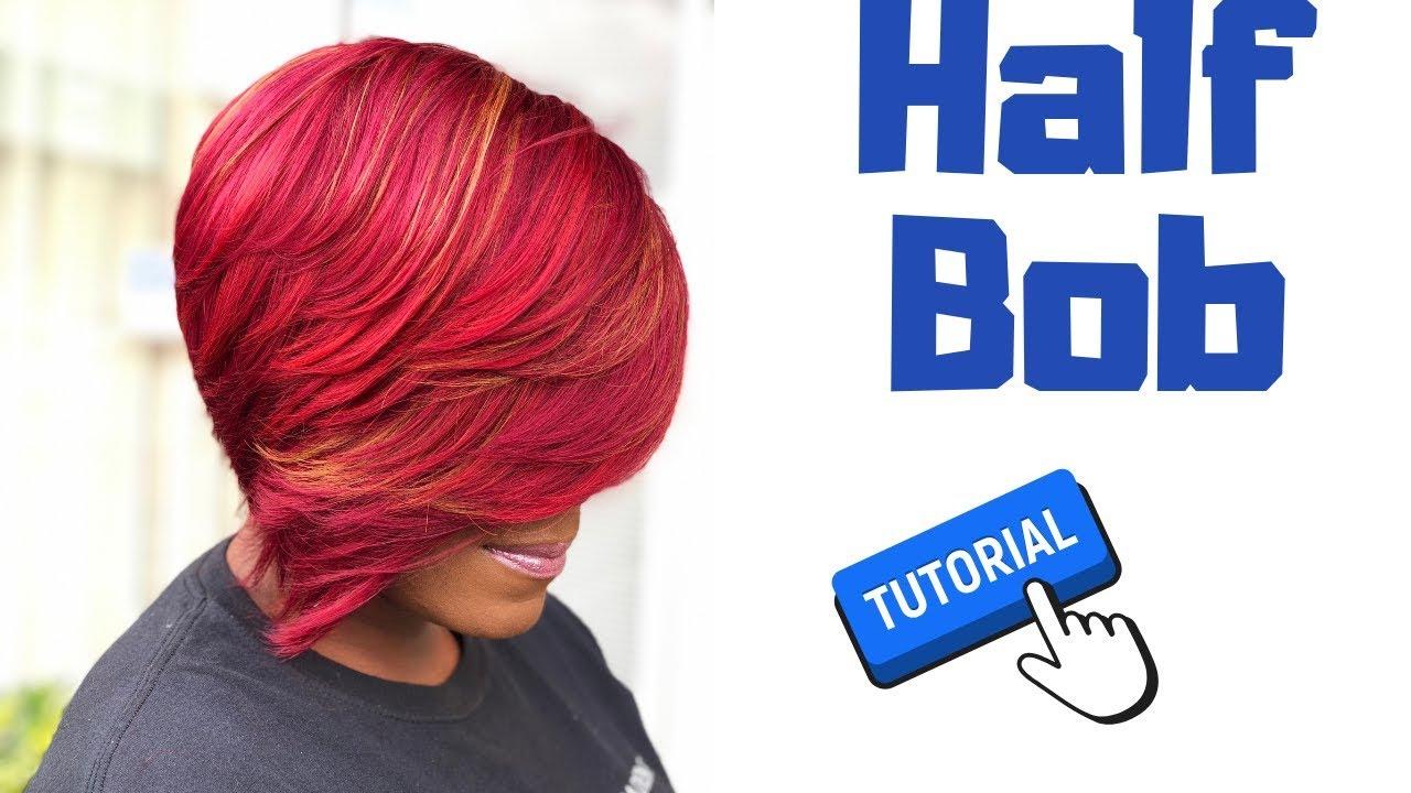how to do a 28 pcs half bob   janet collection 28 pcs   sensationnel hair