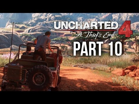 Uncharted 4 Gameplay Walkthrough Part 10 -THE TWELVE TOWERS (Chapter 10)