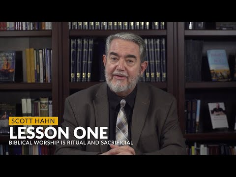Scott Hahn discusses Lesson 1 of the Bible and the Mass