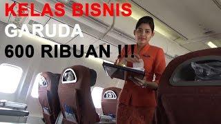 Business Class || Garuda Indonesia Boeing 737-800 Jakarta - Bandar Lampung