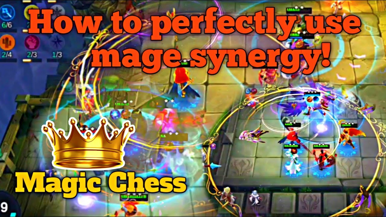 HOW TO USE MAGE SYNERGY IN THIS CURRENT META  MAGIC CHESS