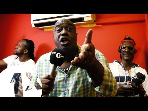 1Xtra in Jamaica - 80's Freestyle (Professor Nuts & Admiral Bailey)