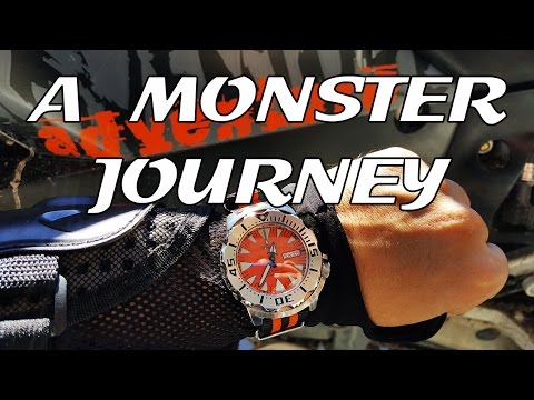 A Monster Journey - Seiko SRP309 Epic Off Road Adventure - A Minitwatch Feature Length Film (WR250R)