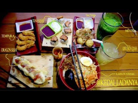 Kuliner Cianjur Kedai Ladanya Sushi Ramyeon Tomyum Tempura Midori