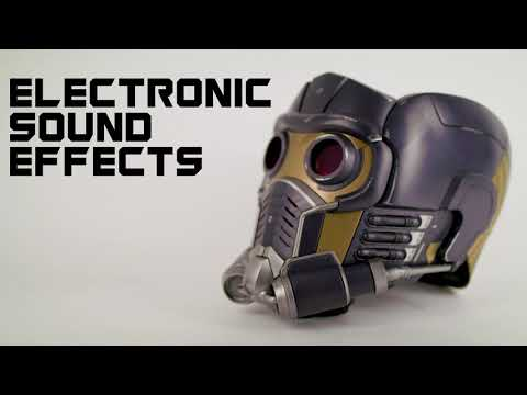 Marvel - Guardians of the Galaxy - Star-Lord Replica Helmet with Bluetooth Speakers - Video