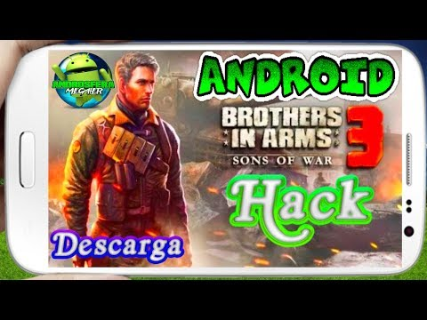 Descarga super juego Brothers in Arms 3 Hack 1.4.4c apk+datos para celulares Android links directos