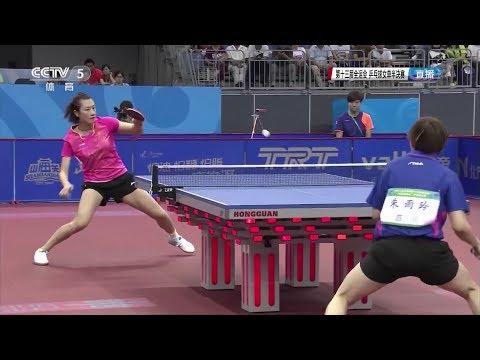 2017 China National Games (WS-SF) DING Ning Vs ZHU Yuling [Full Match/Chinese|HD1080p]