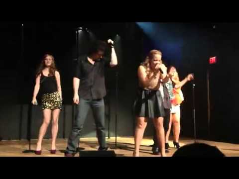 The Glee Project Concert   MilkshakeMoves Like Jagger Lily, Marissa, Shanna, Abraham and Charlie