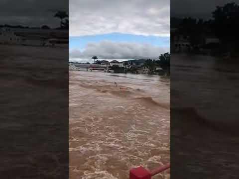 Adolescente desaparece após pular de ponte em Itaperuna