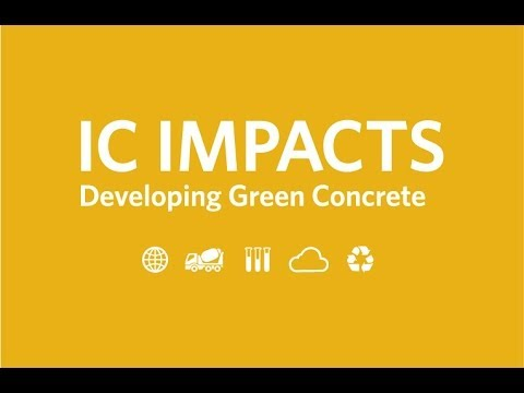 IC-IMPACTS, Developing Green Concrete