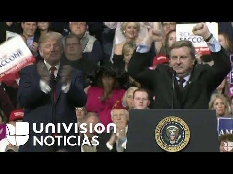 El presidente Trump apoya la campaña del republicano Rick Saccone para el Congreso