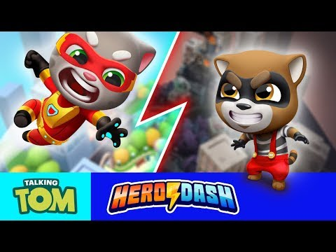 ⚡ NEW GAME ⚡🦸 Talking Tom Plays Talking Tom Hero Dash