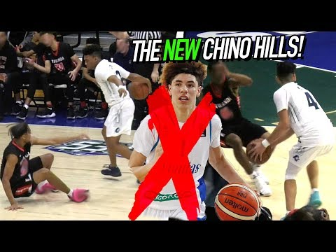 Chino Hills FIRST HOME GAME Without LaMelo! NEW FLOOR! Big Baller Teammates Go AT IT + Coach PISSED!