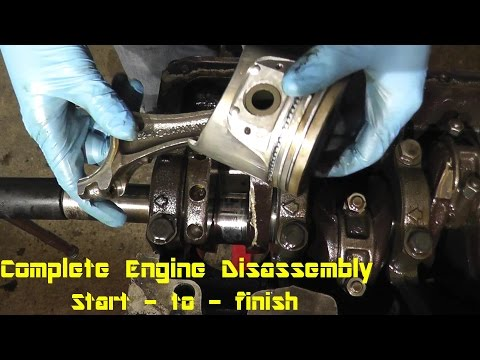 How to Disassemble an Engine Step by Step