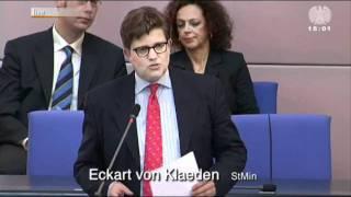 """""""Dieser Gong ist keine Hintergrundmusik"""" (Katrin Göring-Eckardt im Bundestag)"""