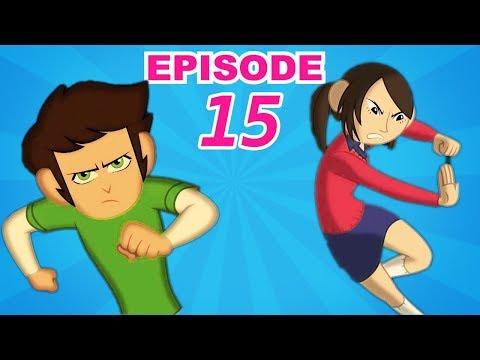 Kid Krrish Movie Cartoon | Little Heroes to The Rescue | Cartoon Movies For Kids | Videos For Kids