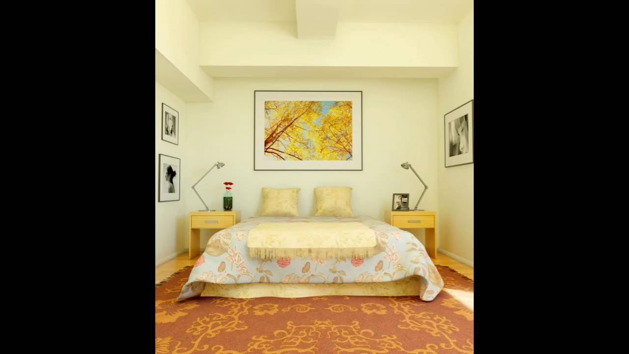 paint colors for small bedrooms - YouTube