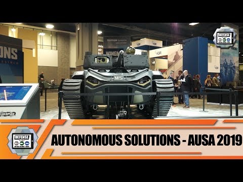 UGVs Unmanned Ground Vehicles for Robotic Combat Vehicle-Light (RCV-L) program of US Army AUSA 2019