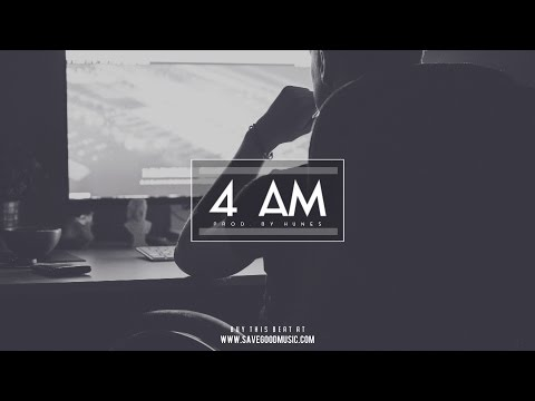 """4 AM"" - Dope Trap Freebeat 2016 / Deep Smooth RnB Instrumental Beat [prod. by Hunes]"