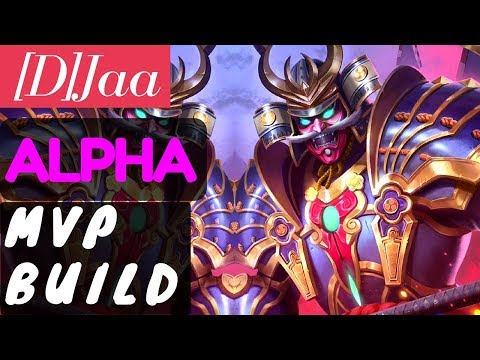 Alpha MVP Build [Rank 1 Alpha] | Alpha Gameplay and Build By [D]Jaa Mobile Legends