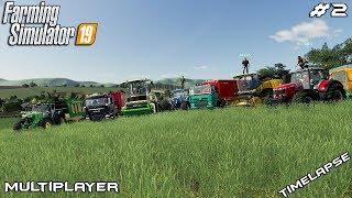 Barley harvest,selling grain & silage | Peter Vill | Multiplayer Farming Simulator 19 | Episode 2