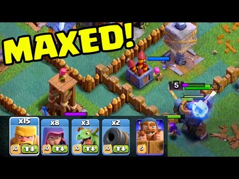 Thumbnail: YOUR INPUT WANTED - Clash of Clans Builder Hall UPDATE - MAXED out Gameplay!