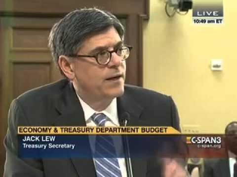 Quigley Questions Treasury Secretary Jack Lew